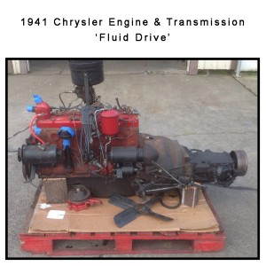 1941 Chrysler Engine & Transmission | Fluid Drive