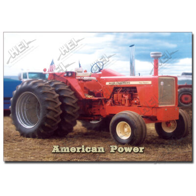 Allis Chalmers 220 Poster American Power