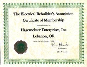 The Electrical Rebuilder's Association
